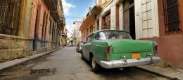 Vintage car on a Cuban street